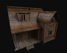 3D Old House shed