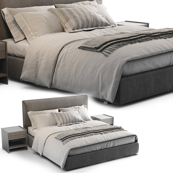 Molteni ribbon bed 2