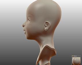 3D model Little Girl v2