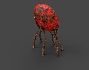 3D asset realtime PBR Alien Flora