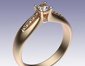 Ring Engagement sterling 3D printable model