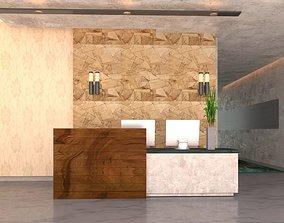 reception architecture 3D model