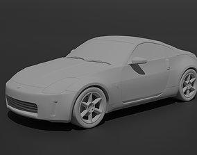 3D print model 370z Nissan 350Z