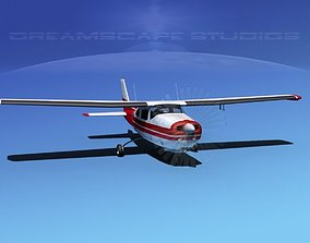 3D Cessna 210 Centurion V03
