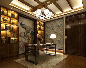 3D model office room design