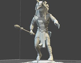Anubis from movie STARGATE toy soldier 3D print model