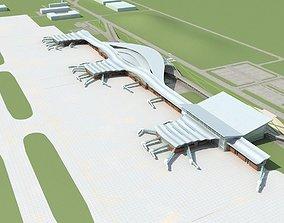 3D model Airport 01