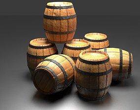 3D pirates barrel