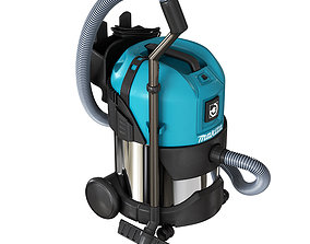 Makita Vacuum Cleaner Wet and Dry Dust Extractor 3D model
