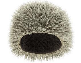 Caucasian hat like Habib 3D model