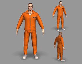 Prisoner 3D asset