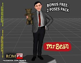 Mr Bean - Rowan Atkinson - Figure Printable