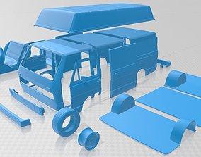 diy Volkswagen LT PanelVan 1975 Printable Van