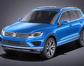 3D Volkswagen Touareg 2016 VRAY