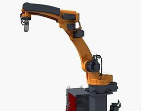 Industrial robot 3D model abb