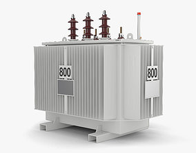 3D model Power Transformer