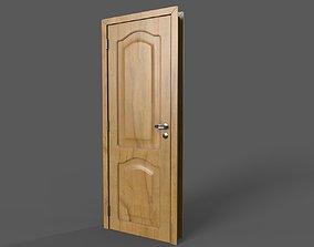 3D asset realtime Wooden Door