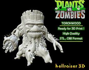 3D print model Plants vs Zombies - Torchwood