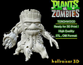 3D print model Plants vs Zombies - Torchwood