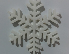 Snowflake for magnet 3D printable model