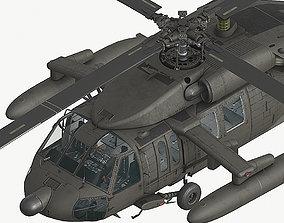 3D model UH60 Fuel tanks