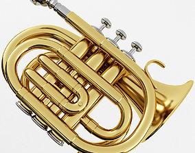 3D Pocket Trumpet