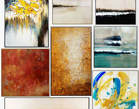 3D Collection of paintings John - Richard