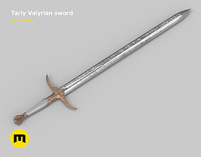 3D printable model Tarly Valyrian sword