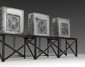 3D Air conditioner compressor unit