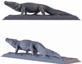 3D printable model Crocodile Statue