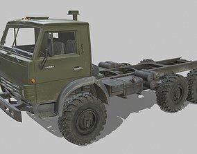 3D model realtime Kamaz 4310