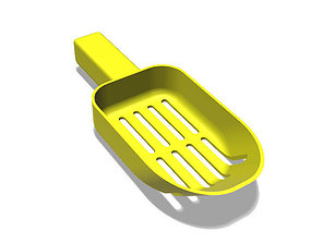 Scoop Standard 3D print model