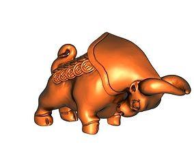 Raging Bull 3D print model