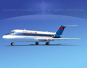 3D model Douglas DC-9-15 AeroLeasing
