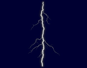 low-poly Realistic 3D Lightning CG-19