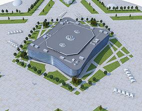 3D model Sochi Olympic Stadium