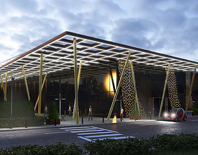 Exhibition Center - Cultural Center and Mall 3D model