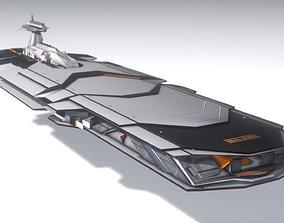 3D ISA Heavy Cruiser