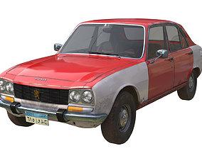 3D model Peugeot 504 taxi