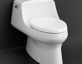 3D Toilet San Raphael