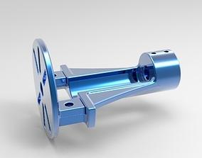 3D print model RC Boat Motor Shaft unit