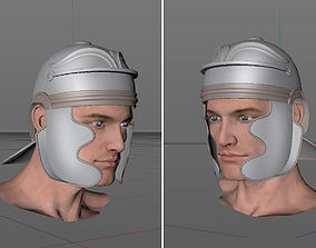 Legion Soldier Head 3D