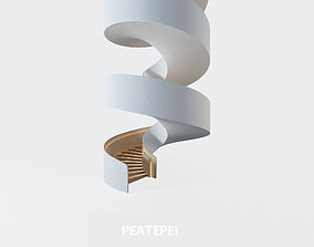 staircase Yabu Pushelberg stairs 3D model
