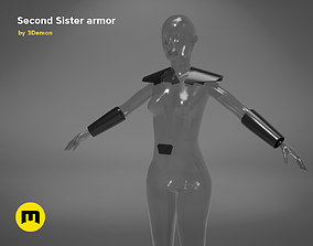 3D print model Second Sister Armor