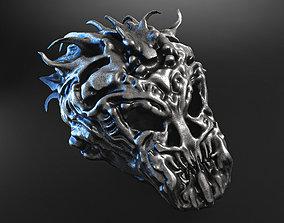 3D model skull beast jewellery