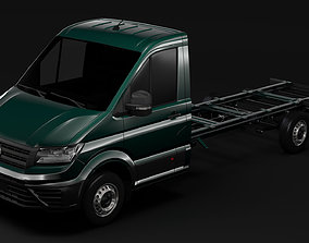 3D model WV Crafter Chassi SingleCab L3 2017