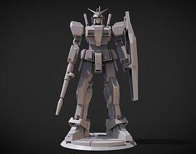 RX-78 GP01 Gundam-Full Burnen 3D printable model