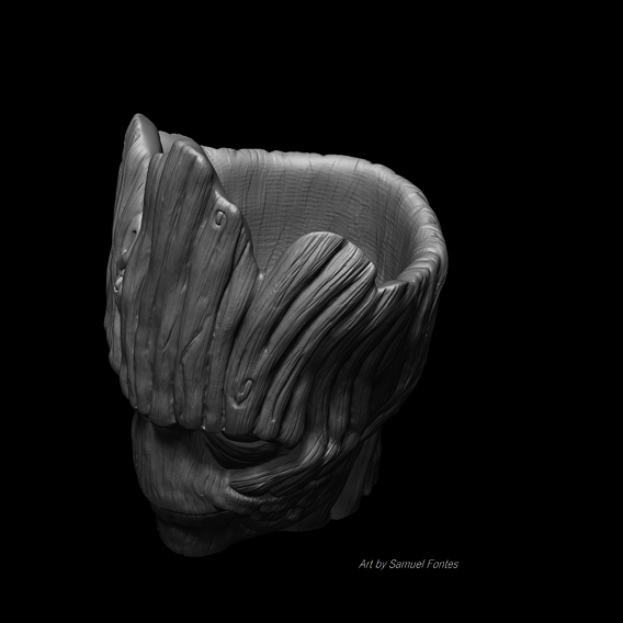 Groot STL vase exclusive edition