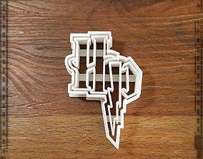 CC158 Harry Potter Logo 3D print model