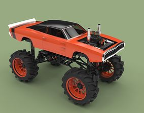 Mud truck 2 3D